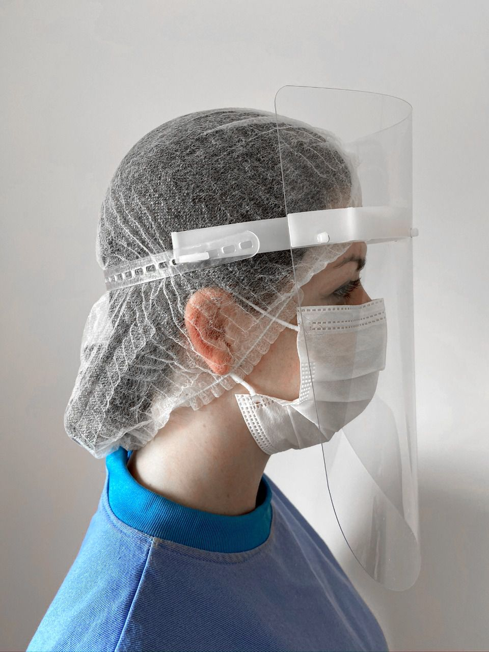 Face Shield MFI - kit c/120 unids. (R$9,90/unid.)