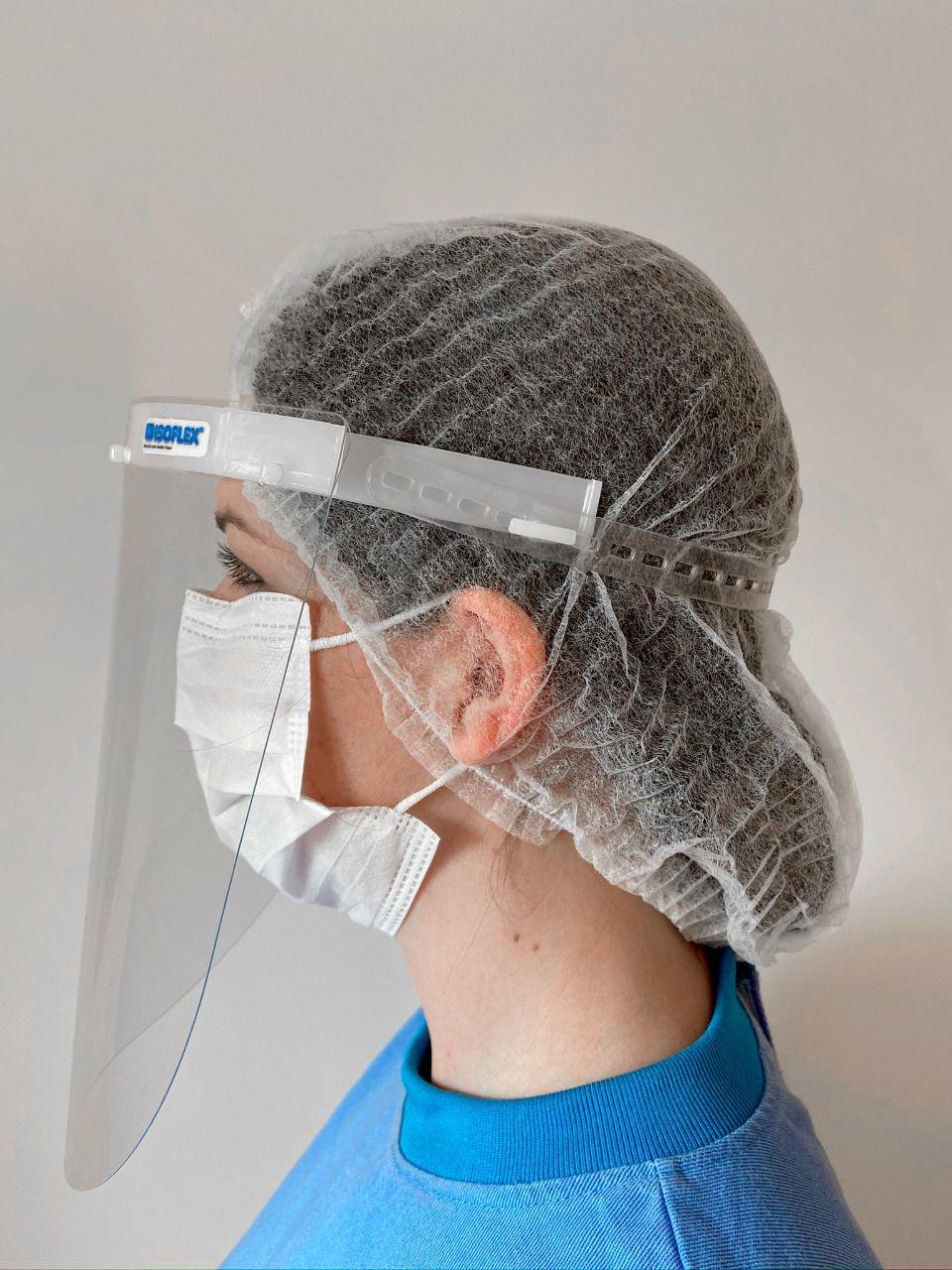 Máscara de proteção facial MFI - Injetada - uso PROFISSIONAL - UNITÁRIO