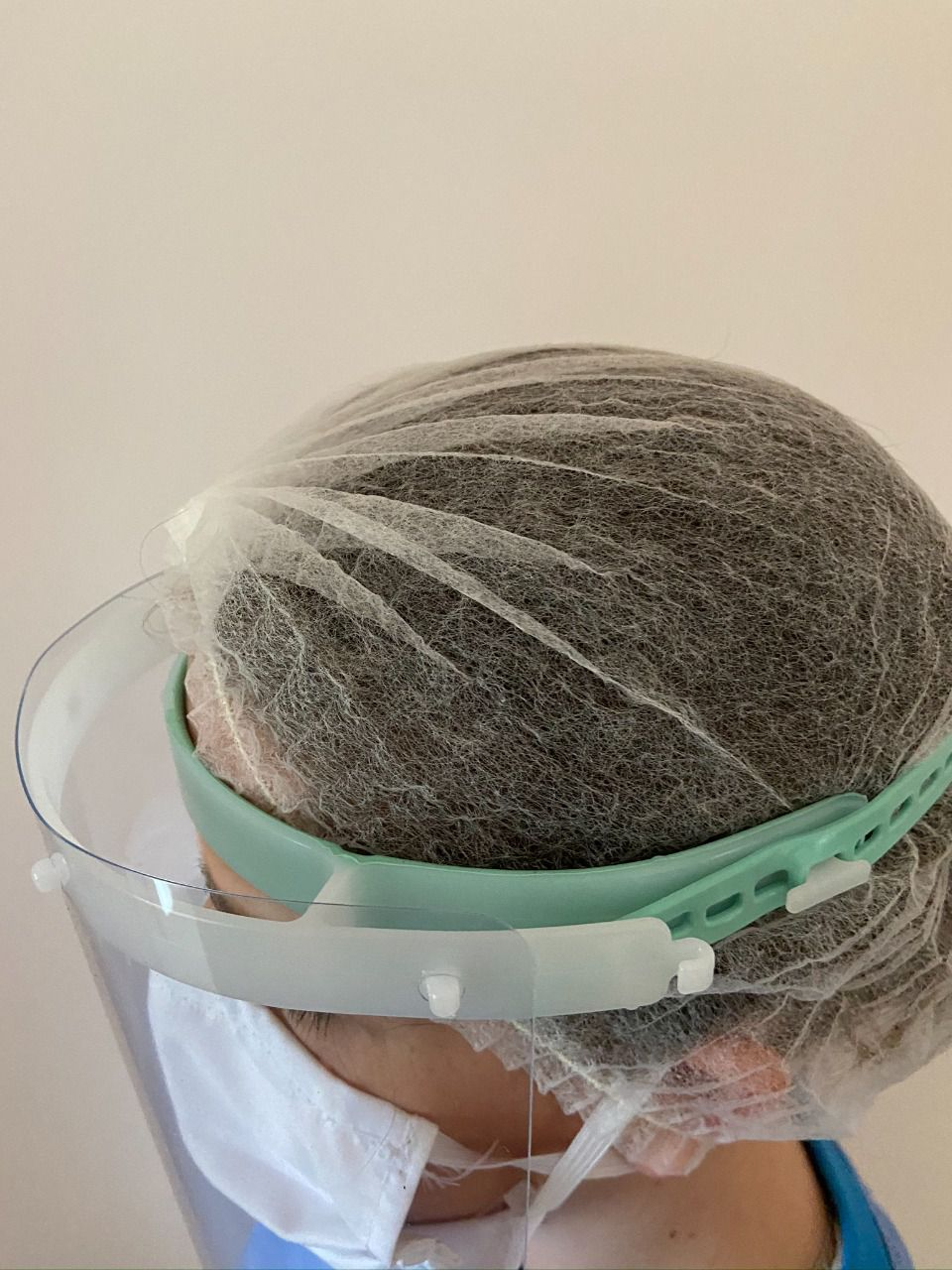 Máscara de Proteção Facial - SOFT - modelo emborrachado