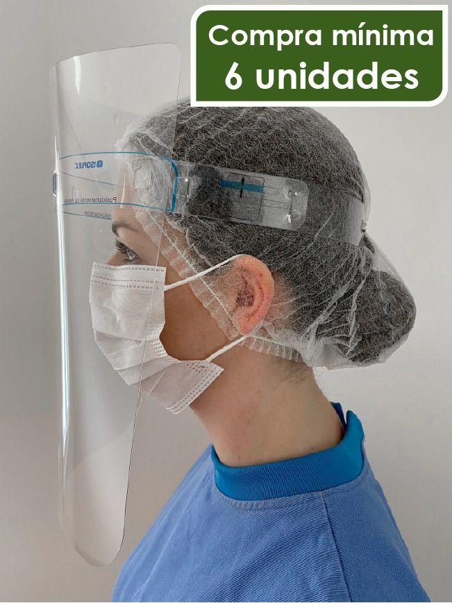 Máscara de proteção facial MFA- Acetato- uso PROFISSIONAL