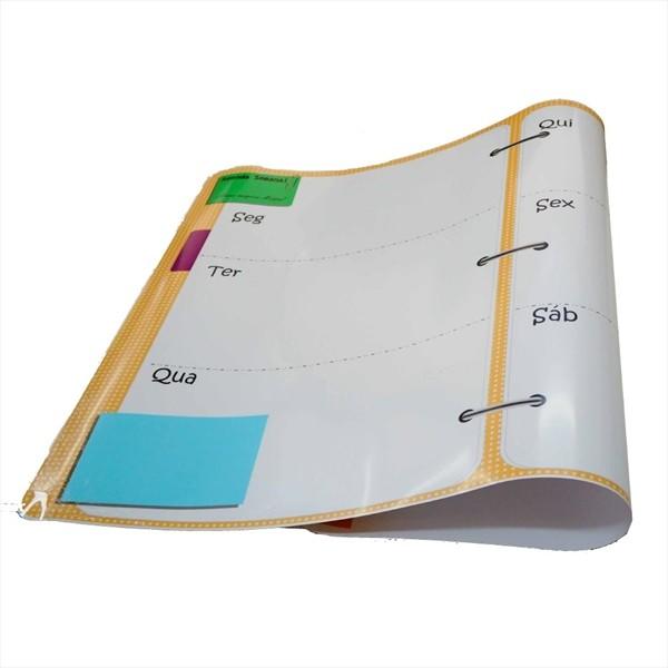 Quadro Flexível Moppy Flex - Agenda Semanal - Isoflex
