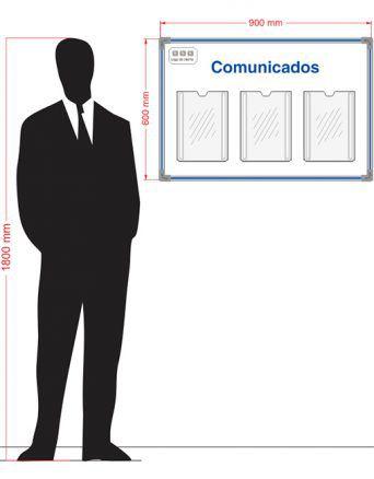 Quadro Informativo Para 03 Folhas A4