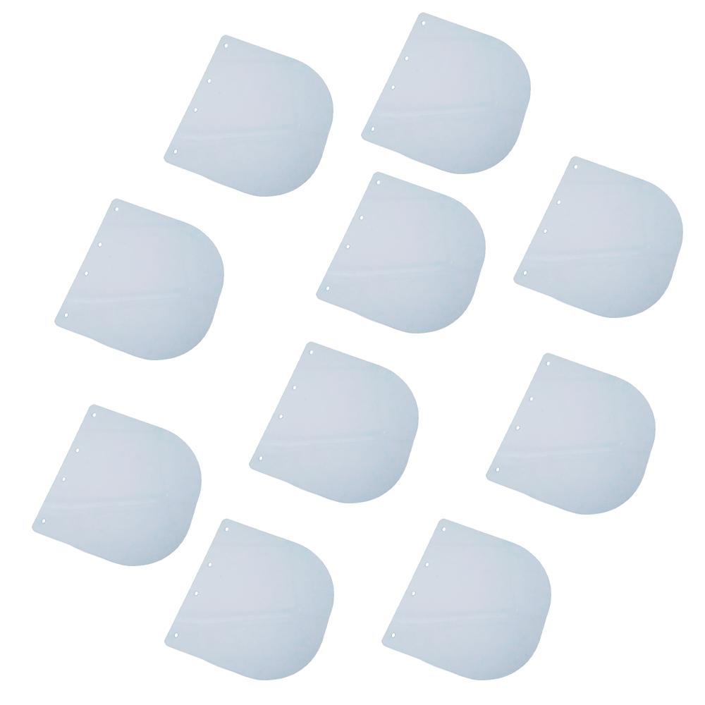 Viseira para Protetor Facial - Kit com 10 unidades (Adulto)