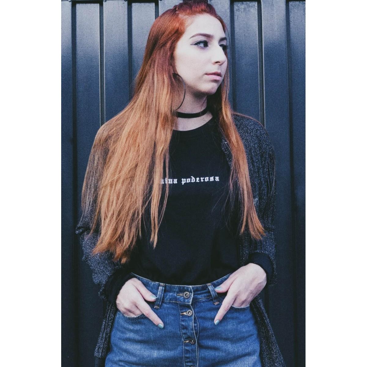 Camiseta Mina poderosa