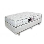 Colchão + Box da Luckspuma de Molas Ensacadas Satisfaction Pocket Solteiro