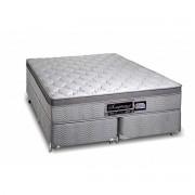 Colchão + Box da Sanonfort de Molas Superlastic Somptueux Queen