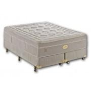 Colchão + Box da Simmons Queen de Molas Ensacadas Goldsmith