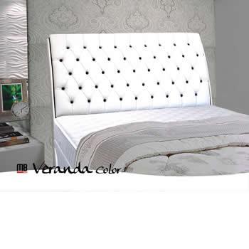 Cabeceira Para Cama Box de casal MB Em Corino Veranda Color