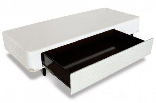 Cama Box C/1 Gaveta Mga Em Corino