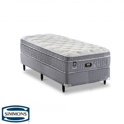 Cama Box Com Colchão Beautysleep Intimate Simmons Molas Ensacadas