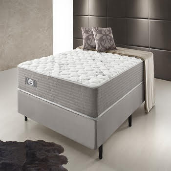 Cama Box Com Colchão King Size Ecoflex Multi Support Com Molas Miracoil