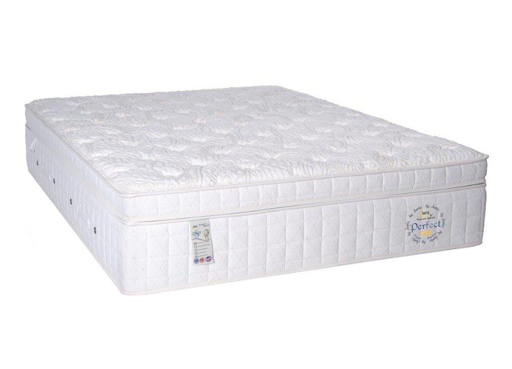 Cama Box Com Colchão King Size Well B Perfect Day Plush Com Molas Posture Spiral