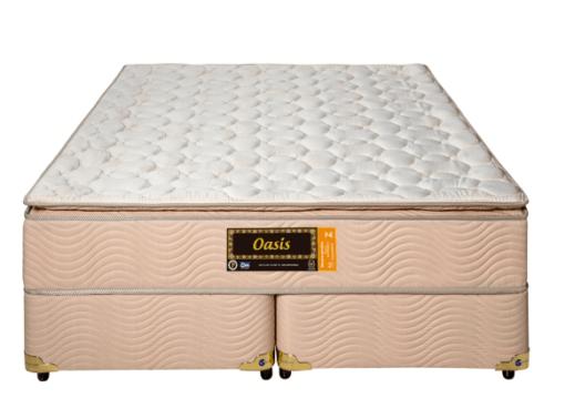 Cama Box Com Colchão Queen Size Sankonfort Sankonfort Oasis Com Molas Ensacadas 2X Action