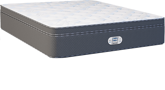 Cama Box Com Colchão Queen Size Simmons Bamboo Celebrating 10 Years com Molas Ensacadas