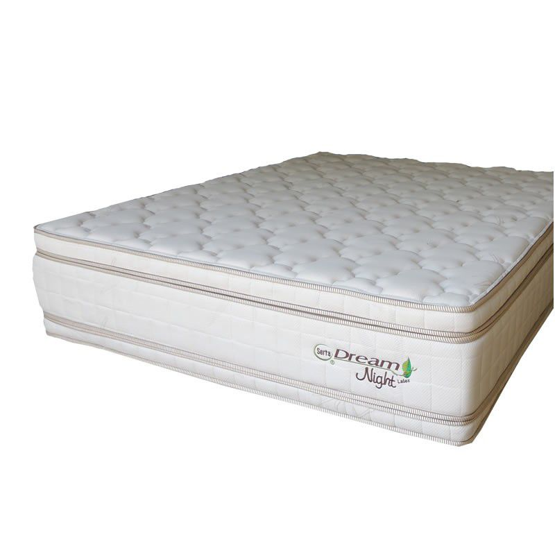 Cama Box Com Colchão Queen Size Well B Dream Night Com Molas Posture Spiral