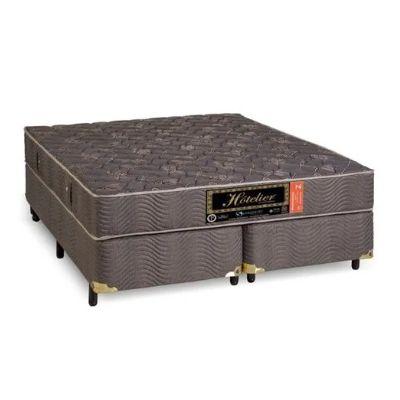 Cama Box Com Colchão Sankonfort Hotelier Com Molas Superlastic 24cm