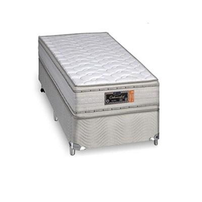 Cama Box Com Colchão Sankonfort Orthoconfort Com Molas Supertastic