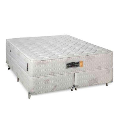 Cama Box Com Colchão Sankonfort Spring Foam Comfort De Espuma