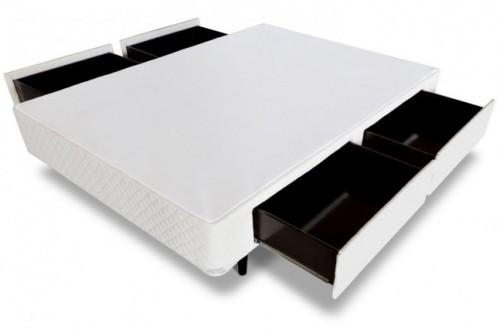Cama Box 4 Gavetas MGA - Tecido