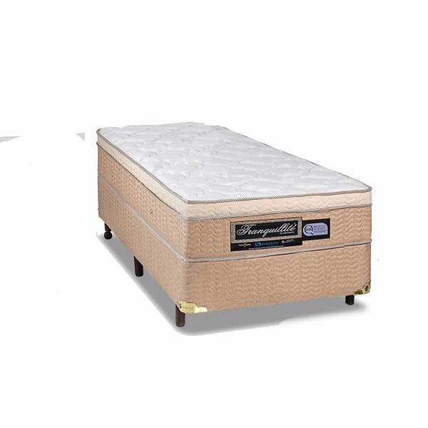 Colchão  + Box da Sankonfort de Molas Bonnel Tranquillite One Side Solteiro