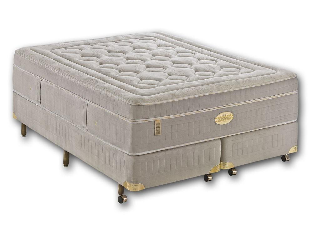 Colchão + Box da Simmons King Size de Molas Ensacadas Goldsmith