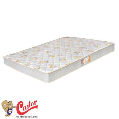 Colchão de Espuma Castor  D28 Sleep Max Semi Ortopedico 18 cm