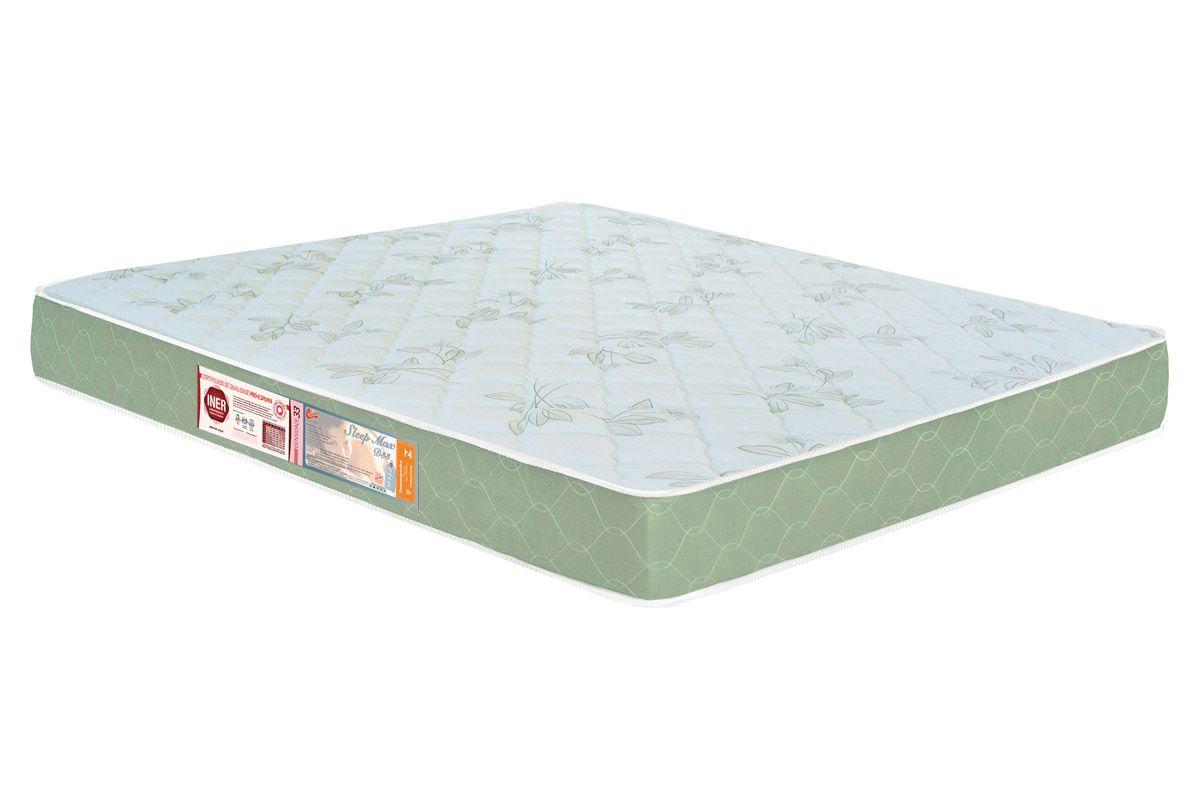 Colchão de Espuma Castor King Size D33 Sleep Max Ortopedico 15 cm