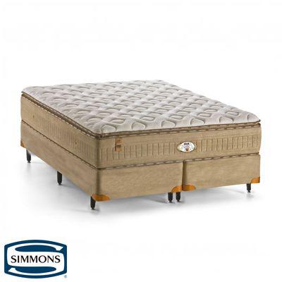 Colchão de Molas Pocket da Simmons Bamboo Memosense Velvet