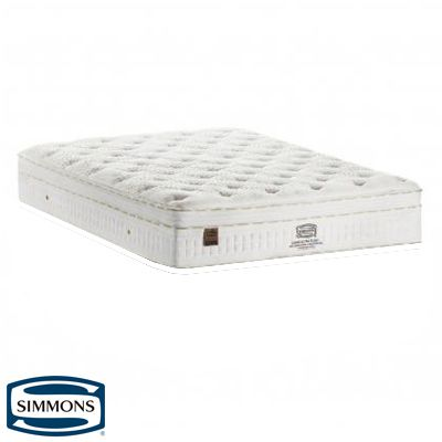 Colchão King Size Simmons Soho Ultra Plush Com Molas Ensacadas