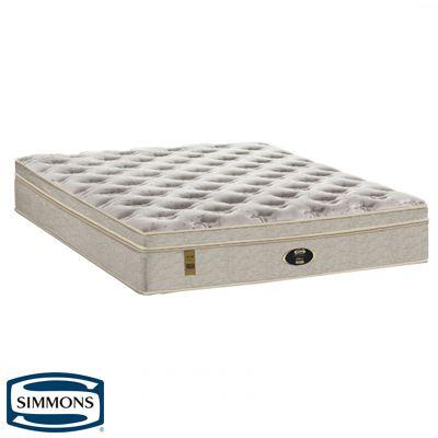 Colchão Simmons  Sunset Latex Comfort de Molas