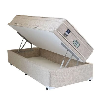 Colchão Simmons Vegas Mola + Box Baú