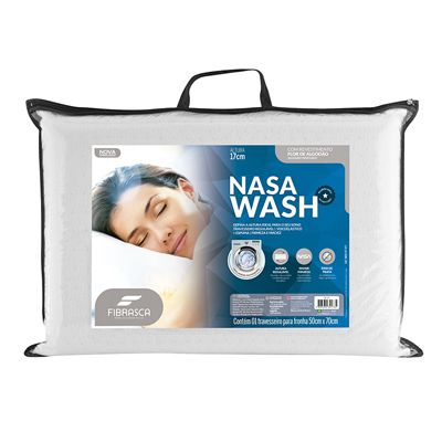 Travesseiro Fibrasca Nasa Wash