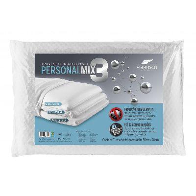 Travesseiro Fibrasca Personal Mix 3