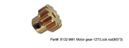 8132-9M1 - Motor Gear 15/lock Nut