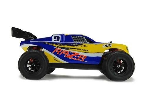 8134 - Automodelo DHK Raz-R 1/10 4WD Stadium Brushed com Bateria 8.4V e Carregador