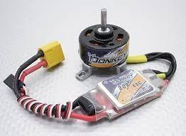 40268 - Combo Motor E Esc Donkey St3007 1100kv Esc 20a