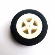10396 - Roda Light Foam (Diâmetro: 30mm, Largura: 11mm)