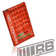 02011-011 - Cartão De Programação Do Esc Rb