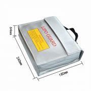B0753G5SL2 - Saco Anti Chama Lipo Bag Guard Bateria 240x180x64mm