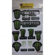 MT - Kit Adesivo Monster 1/8