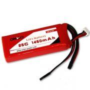 OPLIFE1450252S - Bateria LiFe 1450mah 6.6v (2S) 25C