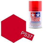 PS-37 - Tinta Spray Translucent Red Tamiya - 100ml