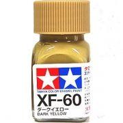 XF-60 - Tinta Emanel Mini Dark Yellow Tamiya - 10ml