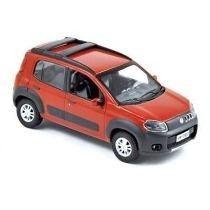 Nor7729601 - Fiat Novo Uno Way 1/43 (und) (cores Diversas) N
