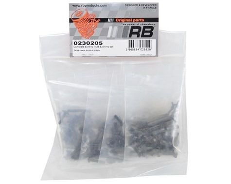 0230205 - Complete Screws, Nuts & Shims Set Rb