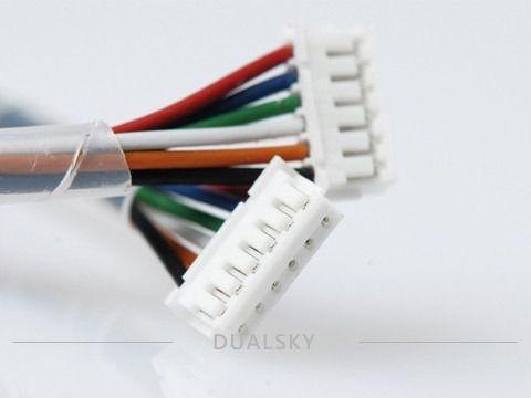 53370 - Fio Do Sensor Para Motores Brushless 120mm Dual Sky