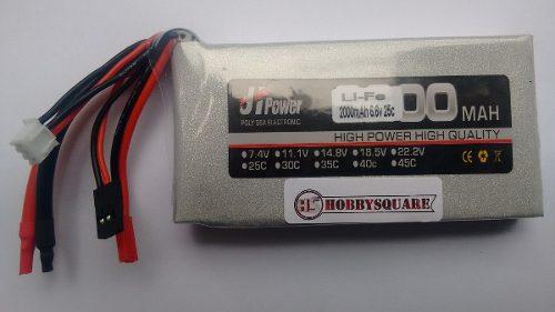 JHP20006625 - Bateria Life 2000mah 6.6v 25c