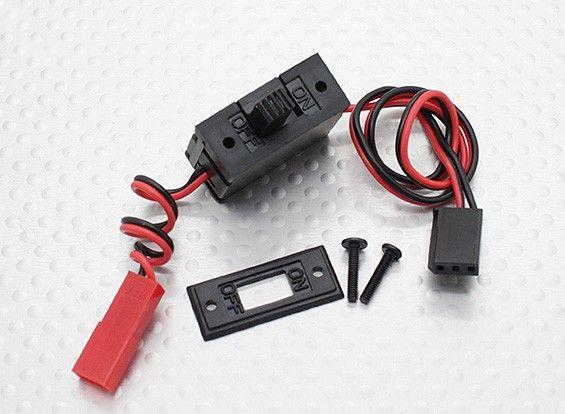 29472 - Botão Switch Liga-desliga plugs JST-Futaba