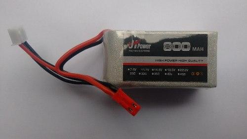 JHP8001125 - Bateria Lipo 800mah 11,1v 25c