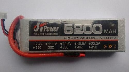 JHP52007430 - Bateria Lipo 5200mah 7.4v 30c